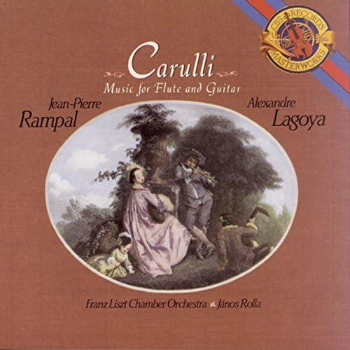 Jean-Pierre Rampal, Alexandre Lagoya, Franz Liszt Chamber Orchestra & János Rolla