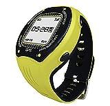 Posma W3 GPS Running Cycling Hiking Multisport Watch Navigation ANT+ Strava MapMyRide/MapMyRun (BHR20 Heart Rate Monitor and BCB20 Speed/Cadence Sensor Bundle Option Available) Yellow