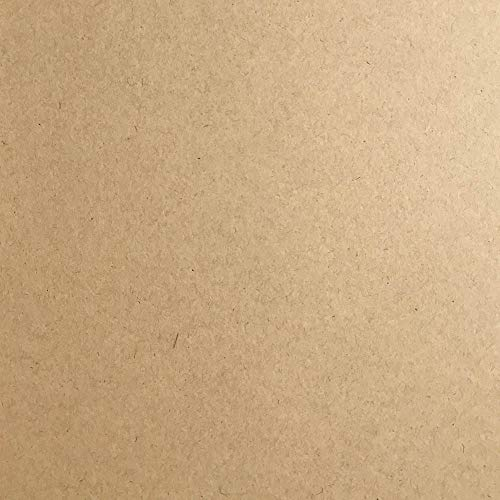Paper Bag Kraft 100% Recycled Cardstock - 12 x 12 inch - Premium 100 LB. Heavyweight Cover - 25 Sheets from Cardstock Warehouse