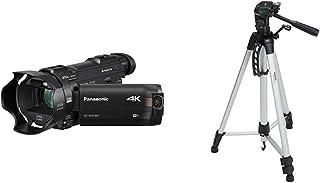 PANASONIC HC-WXF991K 4K Cinema-Like Camcorder, 20X LEICA DICOMAR Lens, Multi Scene Twin Camera (USA Black) and Lightweight...