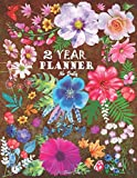 2 YEAR PLANNER NO DATES: 24 Months Agenda Business Personal Plan Monthly Weekly Organizer Appointment Calendar With Federal Holidays USA UK Notebook Logbook