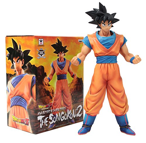 Banpresto Figurine Dragon Ball Z Master Stars Piece Son Goku 2, 48931, 25,4 cm