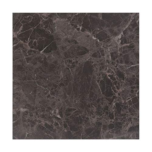 YEYU BH - Adhesivo impermeable para suelo de mármol, para cocina, decoración de la casa, para decoración de la casa, adhesivo decorativo de pared, color negro (color: 81021 1, tamaño: 1 pieza)