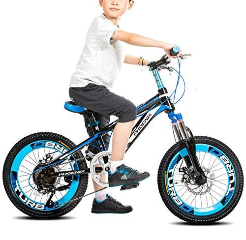 FEE-ZC Kinderfiets met wieltjes, van staal met hoog koolstofgehalte voor jongens en meisjes
