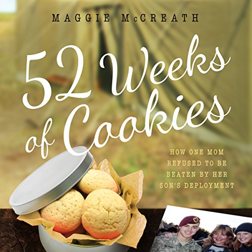 52 Weeks of Cookies audiobook cover art