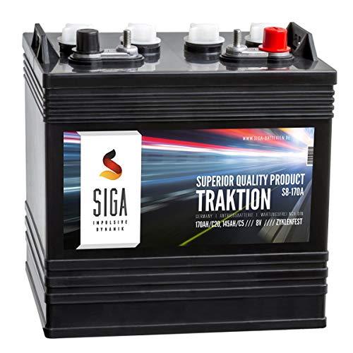 Antriebsbatterie 8V 170AH Traktion Batterie Club Car E-Z-GO Golf Car Hebebühne