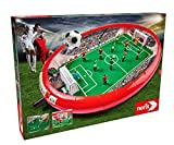 Noris 606178712 - Fußball Arena - Der Tischfußball Spaß für die ganze Familie - Mit Toranzeige - Gesamtgröße 55 x 41 x 8 cm, ab 4 Jahren