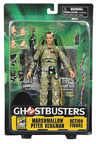 Ghostbusters Select Series Marshmallow Peter Venkman Exclusive Action Figure