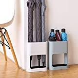 """Shozafia Umbrella Stand Rack for Entryway, Umbrella Holder for Home Décor with Removable Drip Tray, 11"""" x 3.6"""" x 8.7"""" inches"""