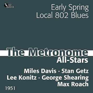The Metronome All-Stars 1951 (feat. Miles Davis, Stan Getz, Lee Konitz, George Shearing, Max Roach)