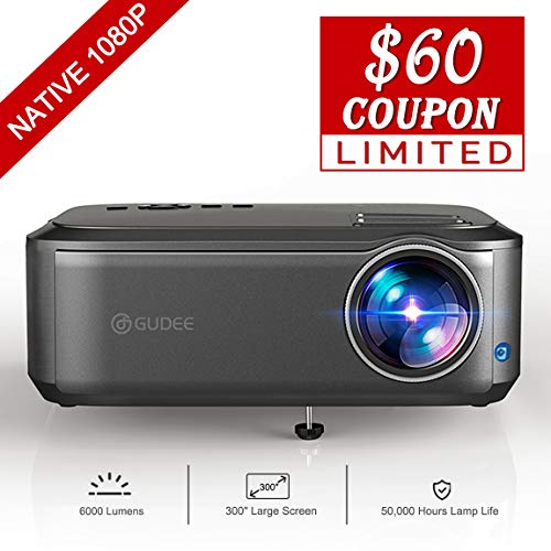 Buy Cheap Native 1080P Projector Full HD Video Projector, 4K Office Projector for Laptop Business Po...