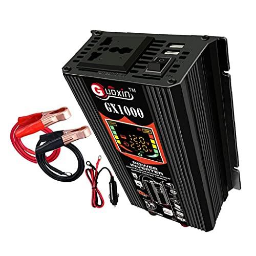 500W Power Inverter DC 12V naar AC 220 V Auto Plug Inverter Adapter Pure Sinus Wave Power Converter 500W Power Inverter Pure Sinus Wave Power Inverter DC 12V tot 220 V AC Converter Auto Charger