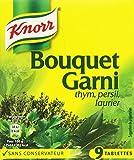 Knorr Assaisonnement Bouquet Garni 9 Cubes 99 g - Lot de 4