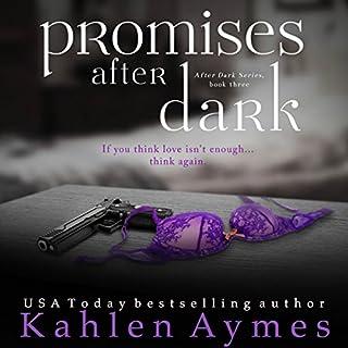 Promises After Dark (After Dark Series, #3) audiobook cover art