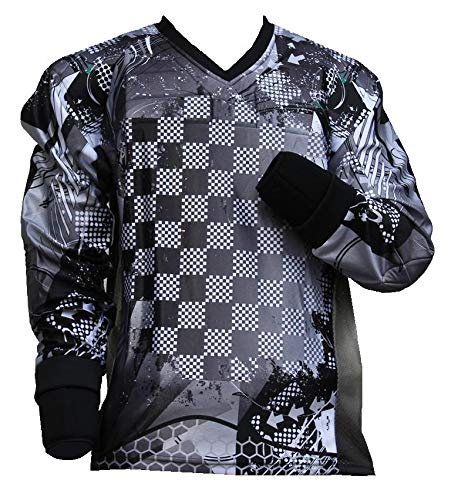 "PBC Paintball Jersey ""Square"" Schwarz (M)"