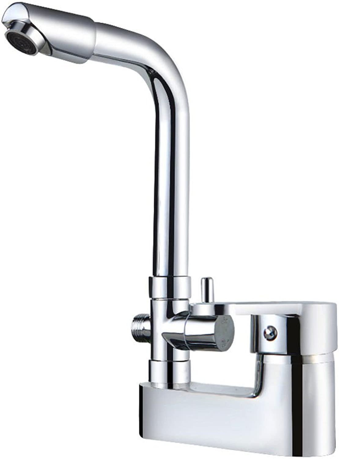 SADASD Modern Copper Bathroom Double Hole Shower Faucet Function Double Handle Double Control Shower Hot and Cold Mixer Tap