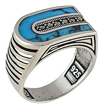 Best mens turquoise rings Reviews