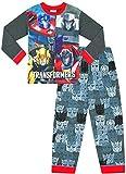 Jungen-Schlafanzug, Transformers Optimus Prime und Bumblebee, W19 Gr. 4-5 Jahre, Schwarz
