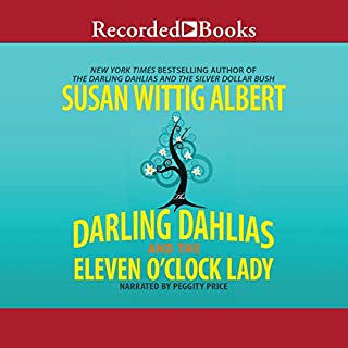 The Darling Dahlias and the Eleven O'Clock Lady audiobook cover art