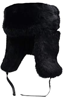 mens sable fur hats