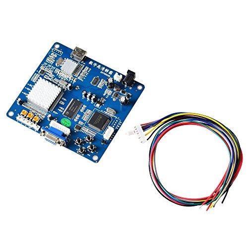Mcbazel Arcade Game VGA/RBGS/RGBSHV a HDMI Scheda di conversione video di uscita video con cavo