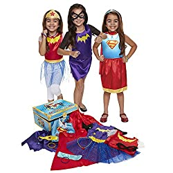 super hero dress-up clothes for toddler girls