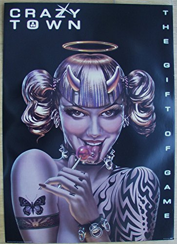Poster Crazy Town The Gift of Game Format 60 x 84 cm