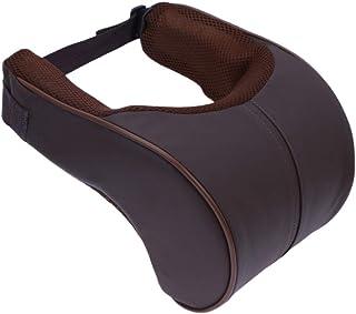 AIJICHE Memoria de algodón Coche reposacabezas Apoyo para el Cuello Soporte de Seguridad para el Coche Almohada cojín Accesorios de Peinado del Coche