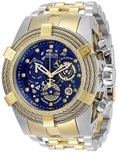 Invicta Reserve Chronograph Quartz Blue Dial Men's Watch 30071
