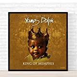Sanwooden Young Dolph King of Memphis Poster Album Cover
