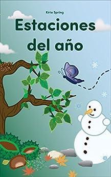 """Libros para niños: """"Estaciones del año"""" (Junior Spanish"""