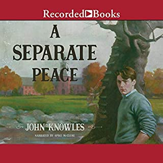 A Separate Peace                   Written by:                                                                                                                                 John Knowles                               Narrated by:                                                                                                                                 Spike McClure                      Length: 6 hrs and 33 mins     Not rated yet     Overall 0.0