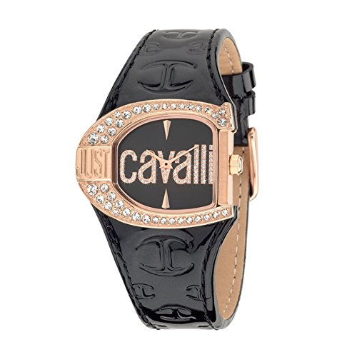 Just Cavalli Reloj de Cuarzo Woman Jc Logo Negro 29×36 mm
