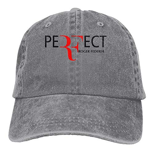 Roger Federer Sombreros para Adultos Unisex Fashion Plain...