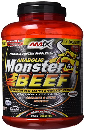 Amix Monster Beef 2 Kg+200 Gr Gratis ⭐