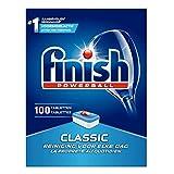 4 x Finish Powerball Dishwasher Tablets - Classic - 100 Stück