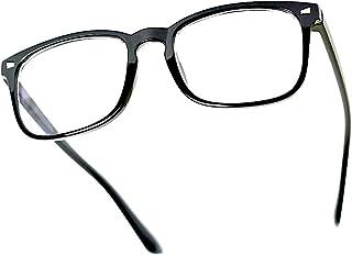 نظارات Hanley ذات مرشح الضوء الأزرق، زجاج كمبيوتر مضاد لإجهاد العين، نظارات هاتف/التلفاز/ألعاب، نظارات طبية بضوء أزرق للرج...