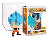 Funko Pop! Animation 668 Dragon Ball Super Super Saiyan God Super Saiyan Son Goku Super Saiyan Bue Hot Topic