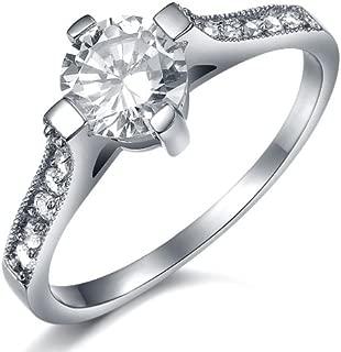 Amazing Titanium Lady's Wedding Band Ring Anniversary/engagement/promise Ring Best Gift!