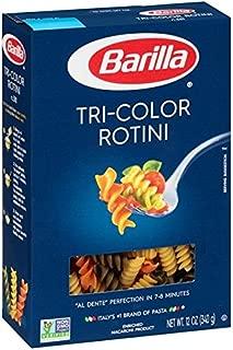 Barilla Tri-Color Rotini Pasta 12 oz. (Pack of 2)