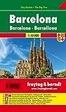 Barcelona City Pocket, plano callejero de bolsillo, plastificado. Escala 1:10.000. Freytag & Berndt.: Stadskaart 1:10 000: PL 109 CP