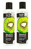 Faith In Nature Brave Botanicals Kiwi & Lime Shampoo & Conditioner Duo 250ml