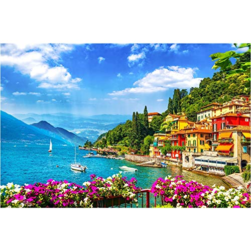 ASDFGHJKL 1000 Piece Puzzles for Adults Difficult Jigsaw Puzzle for Adults Teenagers Challenging,Varenna