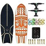 Carver Monopatín 32', Pop Tierra Tabla De Surf C4, Tabla De Surf Jóvenes 9.8', City Road Land Cruiser 3.0 Completo, Adecuado para Adultos Y Niños Entusiastas De Surf,No.8