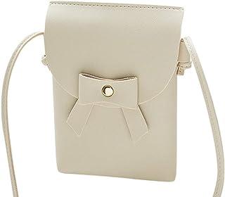 Wultia - Bags for WAMEN 2019 Fashion Women Bow Crossbody Shoulder Bag Messenger Phone Coin Bag Bolsa Feminina *0.92 White