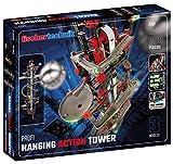 fischertechnik 554460 Hanging Action Tower ab 8 Jahren die weltweit erste Kugelbahn, die an Regalen und Schränken befestigt werden kann das größte Modell ist 96cm hoch 3 Modelle inkl. Easy Elevator