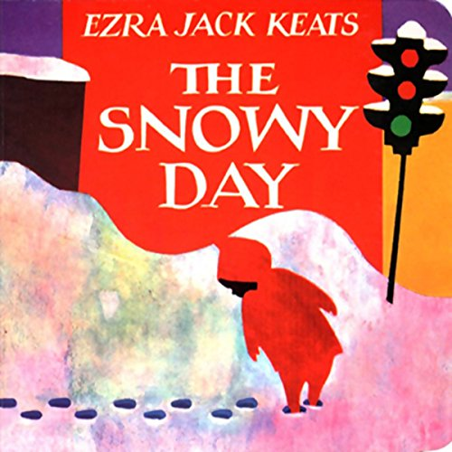 The Snowy Day Board Book cover art