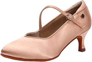 Zapatos de Baile Latino Mujer Salsa Tango Bachata Zapatos de Baile de Salon,KCMD