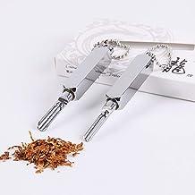 New Metal Spoon Keychain Tobacco Micro-Tuning Shovel Medicine Bottle Use Sniffer Snorter Snuff Powder Mini Smoking Accesso...
