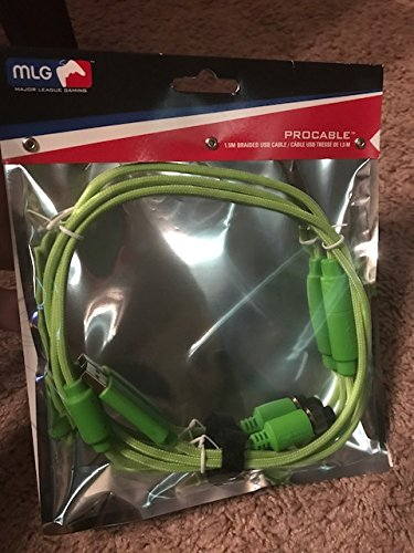 Mad Catz USB Cable MLG PRO Fightstick Controller 1.5M (4.9 feet) TE2 TE2+ Green